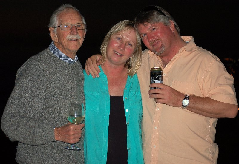 Wallace, Glynnis and Alan
