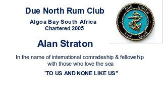 Due North Membership Card