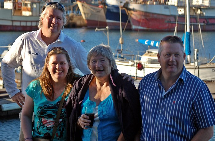 Alan, Nicola,  Annette and Michael.